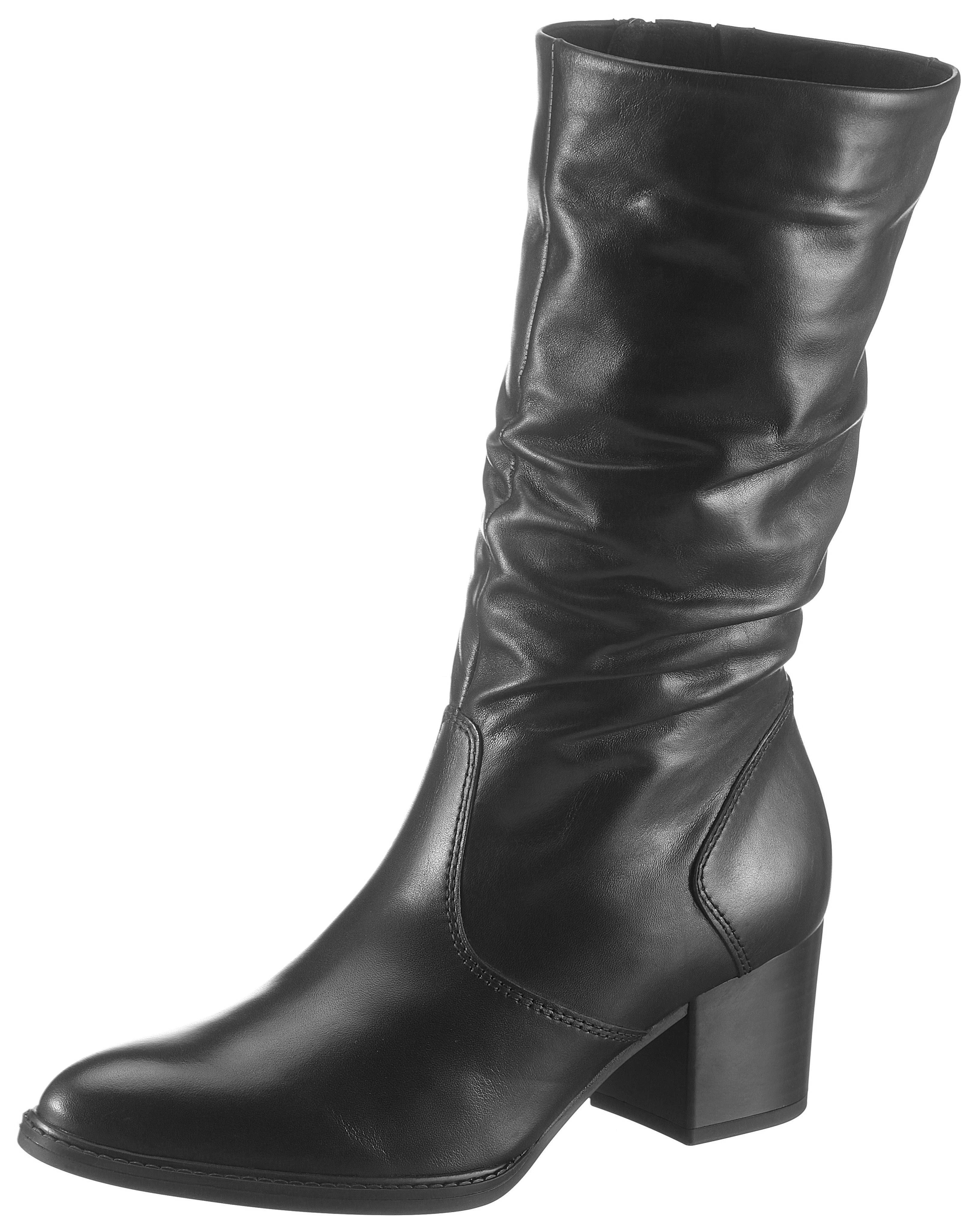 Rieker Stiefel mit Raffungen am Schaft, Kurzstiefel in elegantem Look online kaufen   OTTO