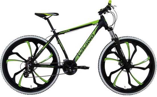 Galano Mountainbike »Primal«, 24 Gang Shimano Altus Schaltwerk, Kettenschaltung