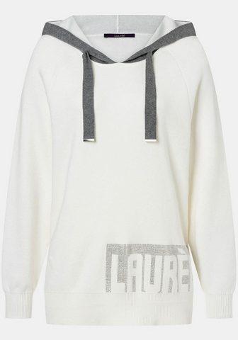 LAURÈL Laurèl пуловер с капюшоном