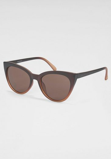catwalk Eyewear Sonnenbrille Retro-Look, Leichte Cat-Eye Optik