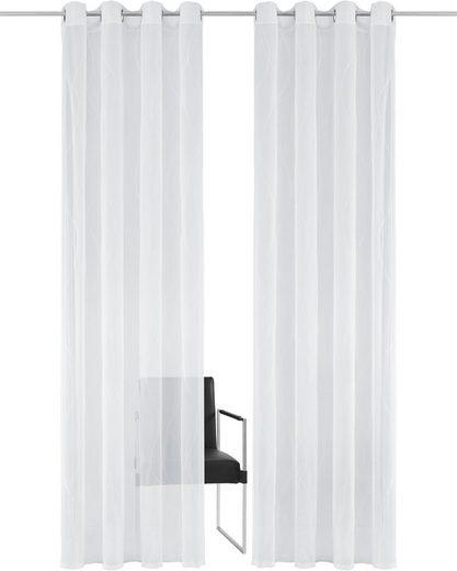 Gardine »Mila«, Guido Maria Kretschmer Home&Living, Ösen (1 Stück), democratichome Edition