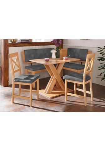 Kampinis virtuvės suolas su kėdėmis »B...