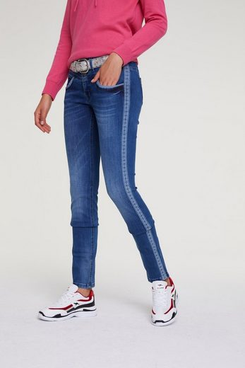 heine CASUAL Push-up Jeans Alwa mit Seitenstreifen