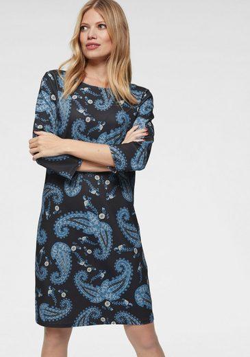 Aniston CASUAL Jerseykleid mit Paisley Druck