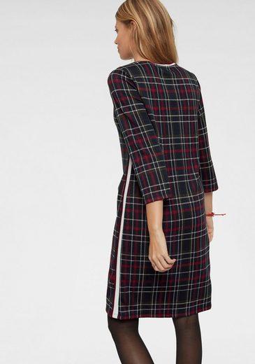 Aniston CASUAL Jerseykleid im Karo Dessin