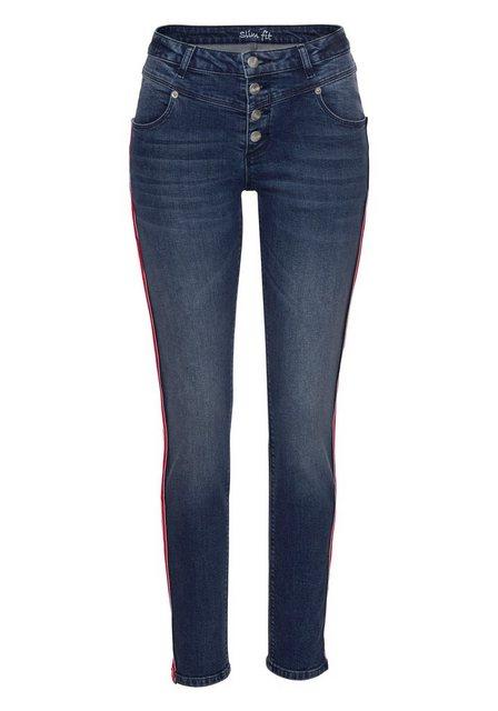 Hosen - Aniston CASUAL Slim fit Jeans regular waist ›  - Onlineshop OTTO