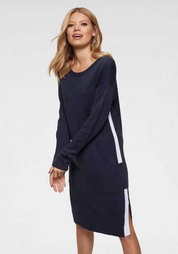 Aniston CASUAL Strickkleid mit Seitenschlitzen