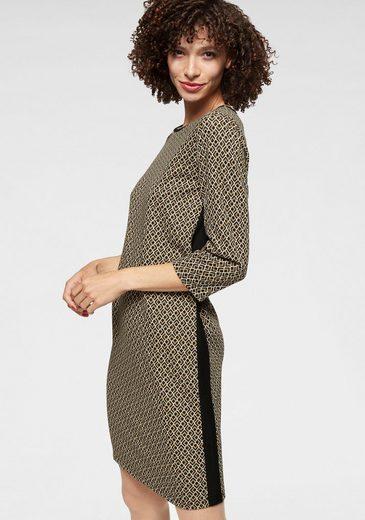 Aniston SELECTED Jerseykleid mit Gallonstreifen