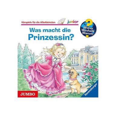 JUMBO Verlag CD Wieso Weshalb Warum Junior 19 - Was macht die Prinzessin