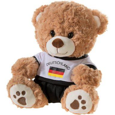 Heunec Bär mit Deutschland-Outfit