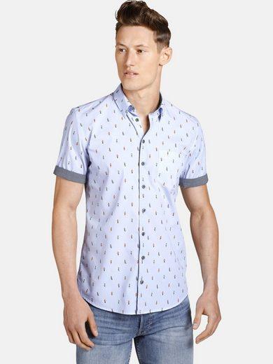 Schlussverkauf SHIRTMASTER Kurzarmhemd »thewanderer« Baumwollhemd zum Krempeln