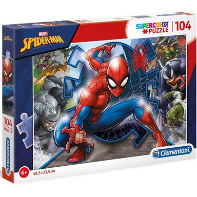 Clementoni® Puzzle 104 Teile - Spiderman