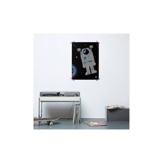 Dot On art - space - astronaut, 50 x 70 cm