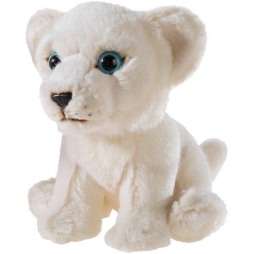 Heunec MISANIMO Weisser Löwe sitzend 15 cm