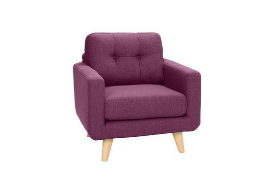 KAWOLA Sessel Stoff verschiedene Farben »ALEXO«