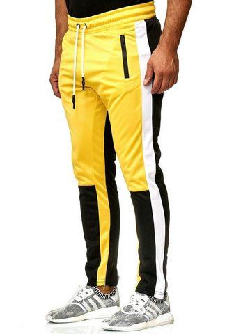 RUSTY NEAL Sportinio stiliaus kelnės su matomas S...