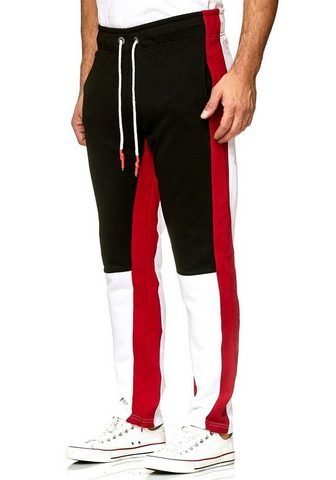 RUSTY NEAL Sportinės kelnės su modernem su raište...