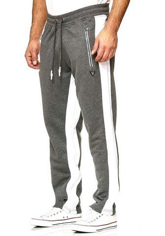 RUSTY NEAL Sportinės kelnės su matomas Seitenstre...
