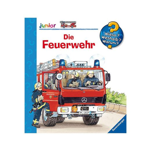 Ravensburger WWW junior Die Feuerwehr