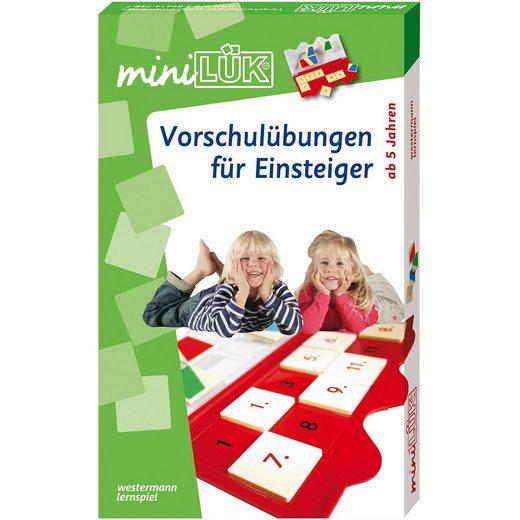 Westermann Verlag miniLÜK: Vorschulübungen für Einsteiger Set