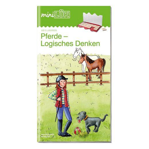 Westermann Verlag miniLÜK: Pferde, Logisches Denken, Übungsheft