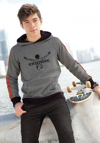CHIEMSEE Sportinis megztinis su gobtuvu