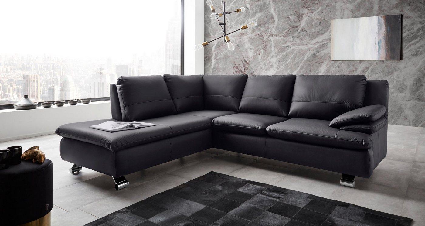 Sofas - Places of Style Ecksofa »Dover335« in Echtleder  - Onlineshop OTTO