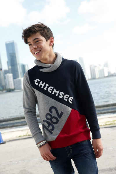 Chiemsee Sweatshirt mit großen Drucken
