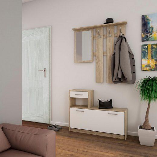 Homexperts Garderoben-Set »Tamme«, (3-tlg)