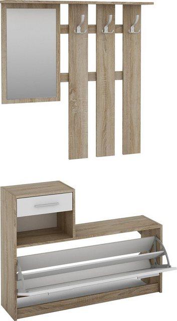 Garderoben Sets - Homexperts Garderoben Set »Tamme«, (3 tlg)  - Onlineshop OTTO