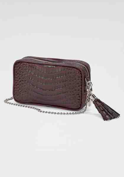 GUIDO MARIA KRETSCHMER Handtasche, aus hochwertigem geprägtem Kunstleder