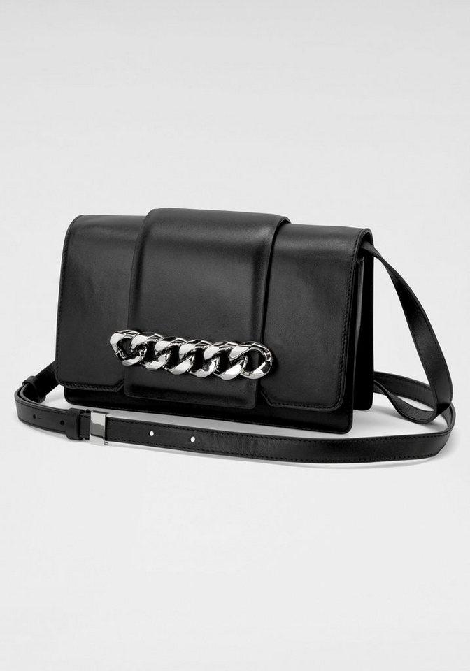 half off 6b670 fafb9 GUIDO MARIA KRETSCHMER Handtasche, aus hochwertigem Leder mit  silberfarbener Kettenapplikation online kaufen | OTTO