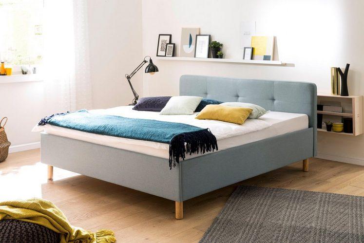 meise.möbel Polsterbett, mit diversen Bettfußvarianten