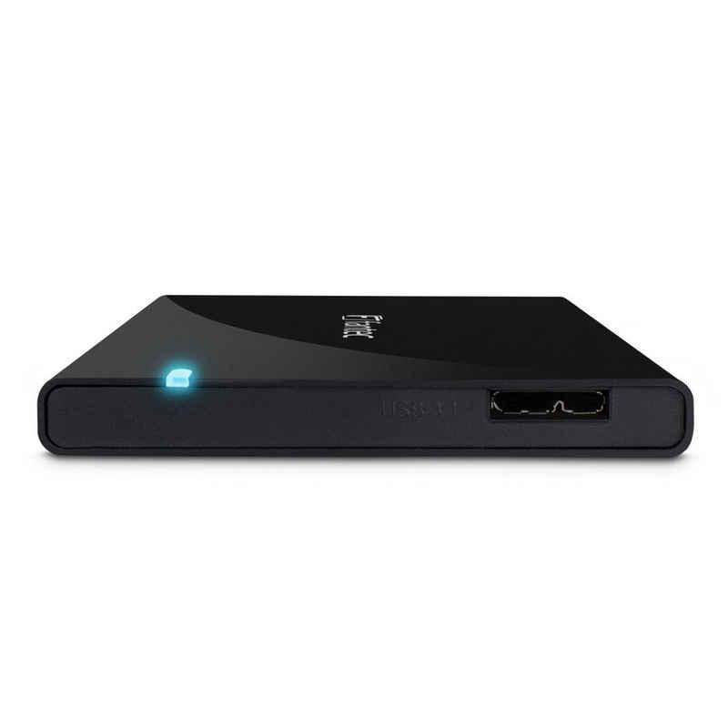 "FANTEC ALU-25B31 Festplattengehäuse »Externes 2.5"" USB 3.1 Festplattengehäuse«"