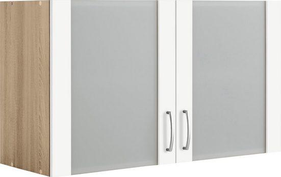 WIHO Küchen Glashängeschrank »Brilon«, Breite 100 cm
