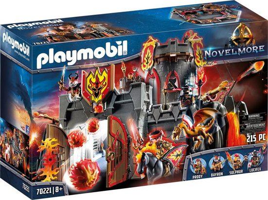 Playmobil® Konstruktions-Spielset »Festung der Burnham Raiders (70221), Novelmore«, Kunststoff, (215 St)