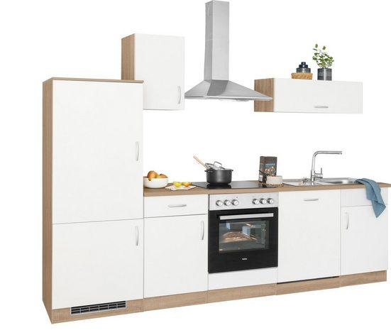 wiho Küchen Küchenzeile »Brilon«, ohne E-Geräte, Breite 280 cm
