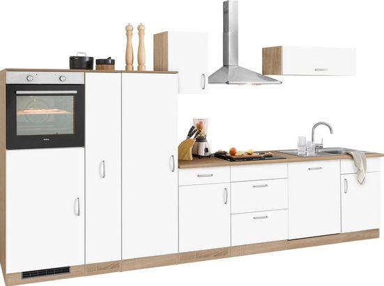 wiho Küchen Küchenzeile »Brilon«, ohne E-Geräte, Breite 360 cm