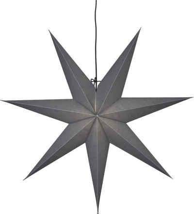 STAR TRADING Dekolicht »Stern«, faltbarer Papierstern inkl. Lampenfassung, Ø 70 cm