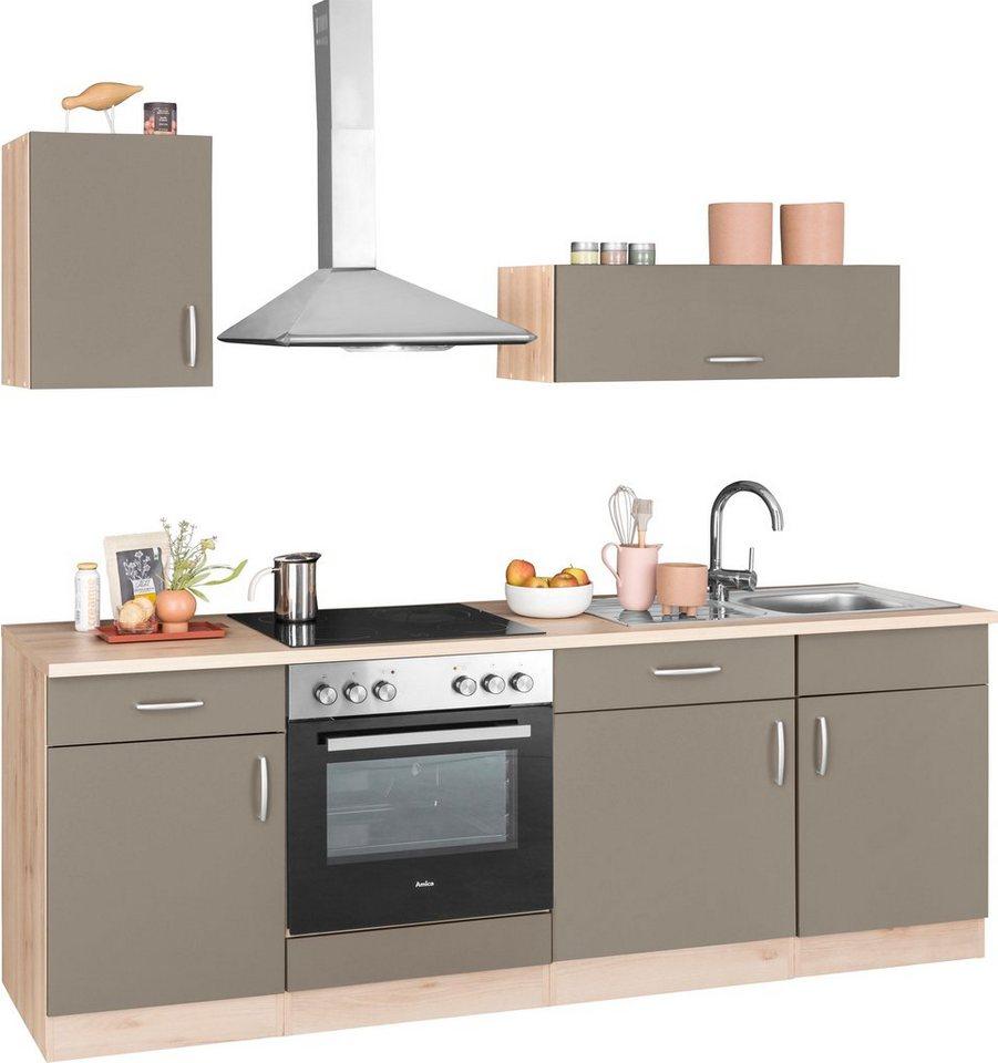 wiho Küchen Küchenzeile »Brilon«, mit E-Geräten, Breite 15 cm online  kaufen  OTTO