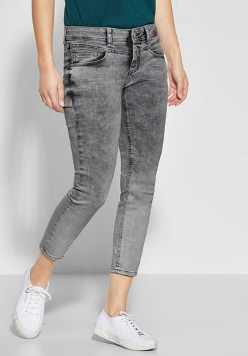 STREET ONE Slim-fit-Jeans stretchig