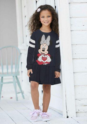 Disney Minnie Mouse Jerseykleid »Disney´s Minnie Mouse« mit Disney´s Minnie Mouse Druck