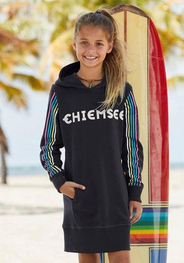 Chiemsee Sweatkleid mit Taschen und Glitzerdruck