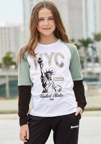 BENCH. Marškinėliai ilgomis rankovėmis »NYC«