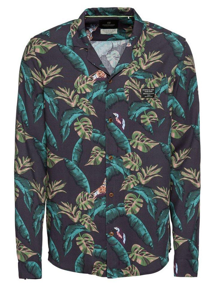 Scotch & Soda Hawaiihemd | Bekleidung > Hemden > Hawaiihemden | Rosa | Scotch & Soda