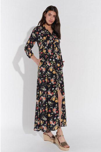 Vestino Hemdblusenkleid mit Blumendruck