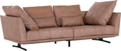 Places of Style Big-Sofa »One«, mit modernen Kufenfüßen