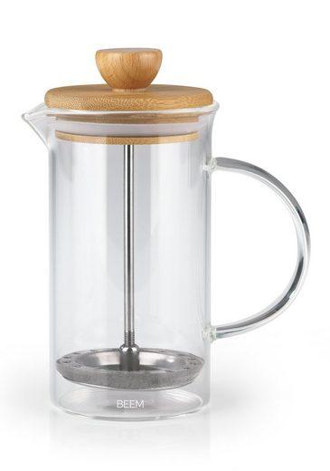 BEEM COFFEE PRESS Kaffeebereiter 0,35l,2 bis 3 Tassen,Bambus