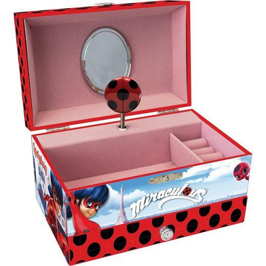 Joy Toy Miraculous Schmuckschatulle mit Schublade und Spieluhr in Ge