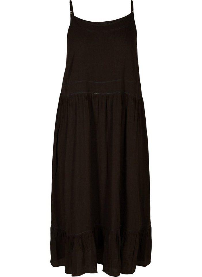 online retailer 8a55f 25b5b Zizzi Sommerkleid Damen Große Größen Kleid Elegant Spaghettiträger  Sommerkleid online kaufen | OTTO